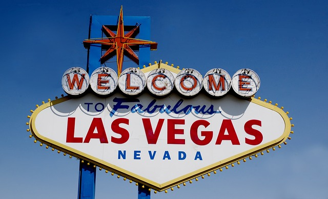 A photo of the Las Vegas sign. One of the things to see when you're in town.